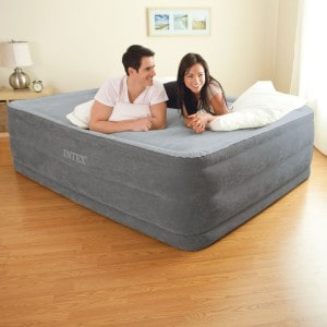 Intex Comfort Plush Elevated Dura-Beam Airbed - Best Queen Air Mattress