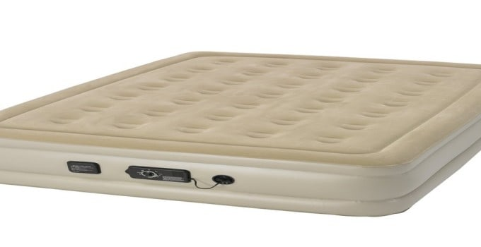 Serta Raised Air Mattress with Never Flat Pump Review